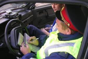 Водителей начали штрафовать по-новому