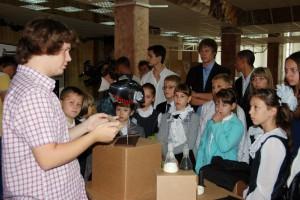 В Белгороде открылась выставка нанотехнологий со всей России
