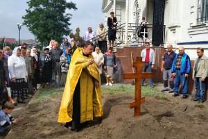 В селе Городище были обретены останки священника