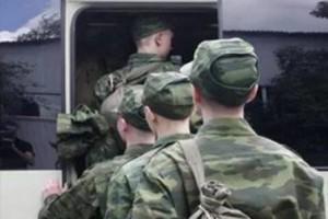 Торжественная отправка в ряды Российской армии