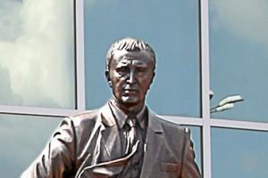 В Старом Осколе открыли памятник Алексею Угарову