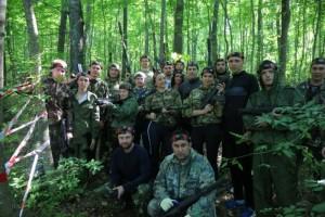 Рабочая молодёжь проверила свои навыки в военно-полевых условиях