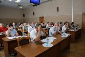 Состоялось тридцать девятое заседание Совета депутатов Старооскольского городского округа