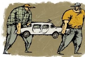 В Старом Осколе оперативники вернули владельцу похищенный автомобиль
