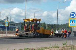 Начата реконструкция южной объездной дороги.