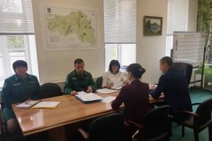 Совещание белгородского Росреестра с представителями Управления лесами Белгородской области