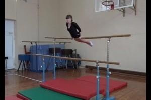 Соревнования по гимнастике в рамках городской спартакиады школьников
