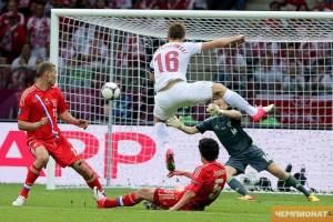Россия – Польша 1:1.