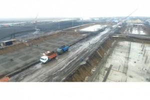 Под Белгородом начато строительство военной базы