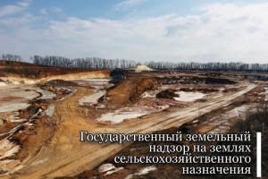 Государственный земельный надзор на землях сельскохозяйственного назначения