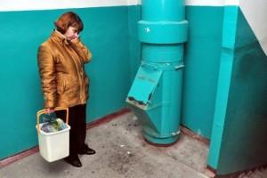 В Старом Осколе намерены отказаться от мусоропроводов