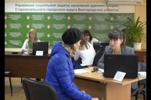 День консультативной помощи прошёл в старооскольском Управлении социальной защиты населения