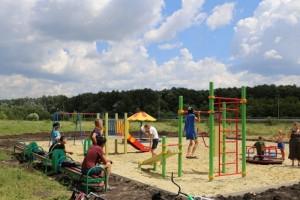 В селах округа этим летом будет установлено 16 детских площадок