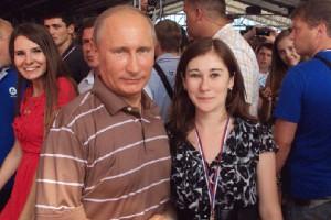 Аспирантка из Белгорода пообщалась с российским президентом