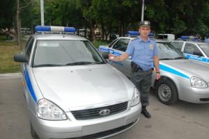 Старооскольская полиция меняет патрульные УАЗы на «Приоры»
