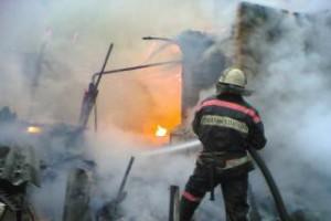 В Белгородской области на пожаре погиб мужчина