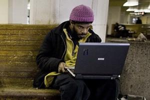 В Старом Осколе бомж пытался украсть суперсовременный ноутбук