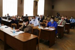 Состоялось тридцать шестое заседание Совета депутатов СГО третьего созыва