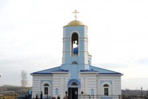 В Старооскольском районе восстановили храм Рождества Пресвятой Богородицы