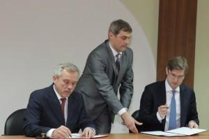 «МЕТАЛЛОИНВЕСТ» подписал с Белгородской областью программу социального партнерства на 2013 год