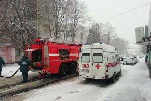 В Губкине из-за пожара в квартире эвакуировано 39 человек