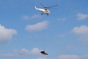 МЧС предлагает эвакуировать с трасс разбитые в ДТП машины при помощи вертолетов