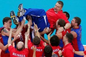 Российские волейболисты - олимпийские чемпионы Лондона!