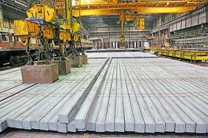 10-миллионную тонну стали отгрузили со склада сортопрокатного цеха №2 ОЭМК