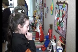 Ежегодная выставка кукол открылась в Старом Осколе