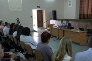 Рабочая поездка в село Солдатское: Александр Сергиенко обсудил вопросы развития сельских территорий