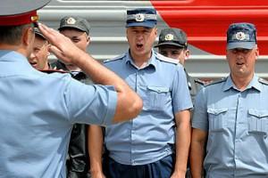 Старооскольские полицейские отправились в Чеченскую республику