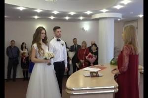 Восемь старооскольских пар скрепили свои союзы в День всех влюблённых