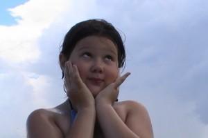 Воспоминания моей старшей дочечки!