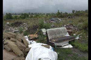 Очередная стихийная свалка обнаружена в Старом Осколе