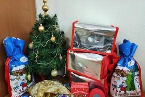 Дети работников ОЭМК им. А.А. Угарова получили новогодние подарки