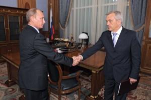Состоялась рабочая встреча Владимира Путина и Евгения Савченко.