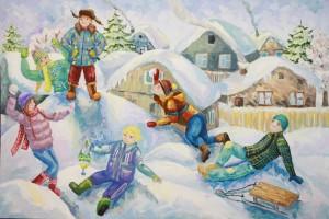 Зимние художественные фантазии