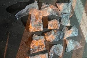 Наркокурьер почти с тремя килограммами «синтетики» задержан полицией на трассе