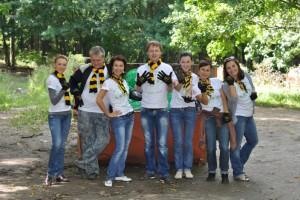 Всероссийская акция «Блогер против мусора» в Белгороде прошла при поддержке «Билайн»