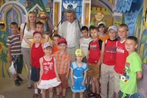 Праздник 1 июня сотрудники Белгородэнерго встретили вместе с детьми