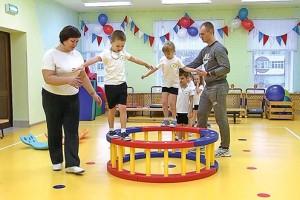 Полезные балансиры для старооскольских дошколят