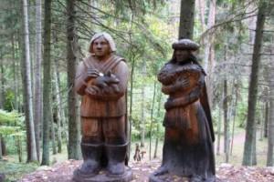 Сказка в лесу
