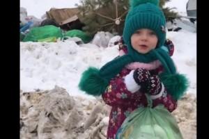 Маленькая девочка наглядно пристыдила коммунальщиков Старого Оскола