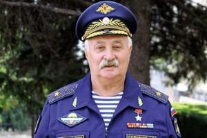Генерал приехал к сослуживцам