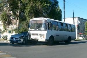 ДТП На проспекте Губкина.