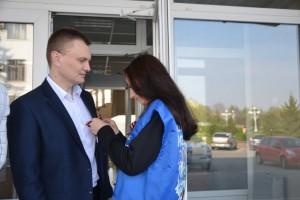 В Старом Осколе стартовала Всероссийская акция «Георгиевская ленточка»