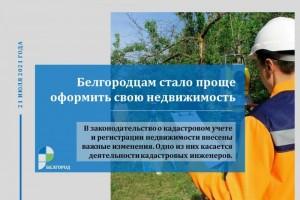 Белгородцам стало проще оформить свою недвижимость