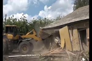 Под снос. Старооскольские сёла освобождают от ветхих домов