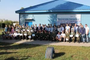 Старооскольский военно-патриотический клуб «Каскад» отметил совершеннолетие