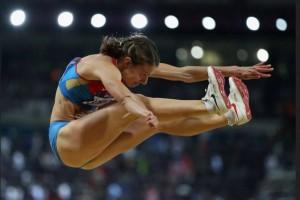 Елена Соколова победила в прыжках в длину на Чемпионате России по легкой атлетике в помещении